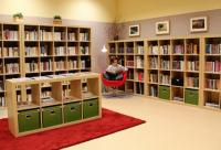 Knihovna Veselice - interiér