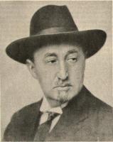 Jiří Mahen, knihovník města Brna, starosta SVOK. Foto Česká osvěta, 1939.
