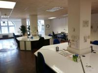 V Central Library si můžete zařídit kancelář pro rozjezd kariéry díky projektu Scottish Coworking Network.