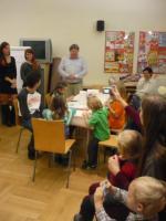 Vernisáž výstavy Děti Heleně Zmatlíkové v Knihovně Jiřího Mahena v Brně, foto: V. Zemanová