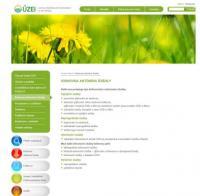 Nové webové stránky ÚZEI
