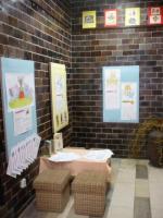 Výstava Děti Heleně Zmatlíkové v pobočce Knihovny Jiřího Mahena ve Starém Lískovci, foto: V. Zemanová