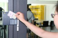Obr.2 Ke vstupu je potřebná zákaznická registrace. Foto: Tereza Velíková, NTK