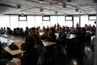 Obr.6 Akce v Noční studovně (Barcamp 2013. Foto: Tereza Simandlová, NTK