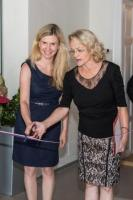 paní ředitelka Pánková a ministryně školství Valachová při slavnostním otevření, foto Dagmar Pavlíková