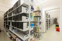 Sklad knih po rekonstrukci, foto Dagmar Pavlíková