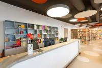 Prostory nově zrekonstruované studovny, foto Dagmar Pavlíková