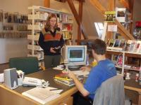 Severočeská vědecká knihovna v Ústí nad Labem - výpůjční protokol