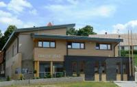 Budova Obecního úřadu Moravany, kde sídlí i knihovna