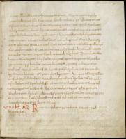 Nejstarším rukopisem ve fondu rajhradské knihovny je tzv. Martyrologium Adonis, tedy životy svatých sepsané francouzským biskupem Adem. Rukopis vznikl na začátku 10. století a krátce poté byl patrně součás